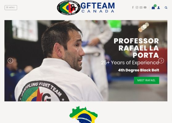 The new GFTeam Canada website