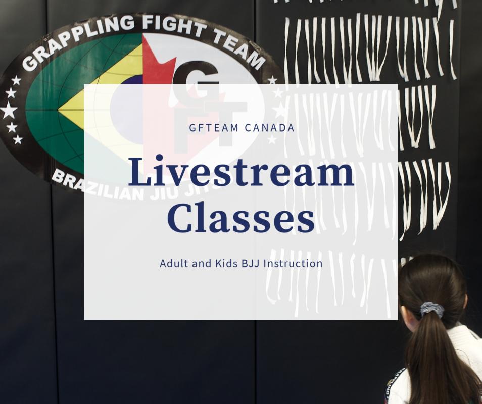 GFTeam Canada Livestream BJJ Classes