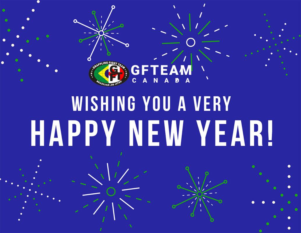 Happy New Year from Brazilian Jiu Jitsu school GFTeam Canada in Burnaby