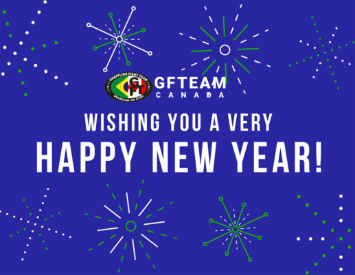 Happy New Year from Brazilian Jiu Jitsu school GFTeam Canada in Burnaby