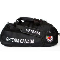 GFTeam Canada black gear bag duffle gym bag