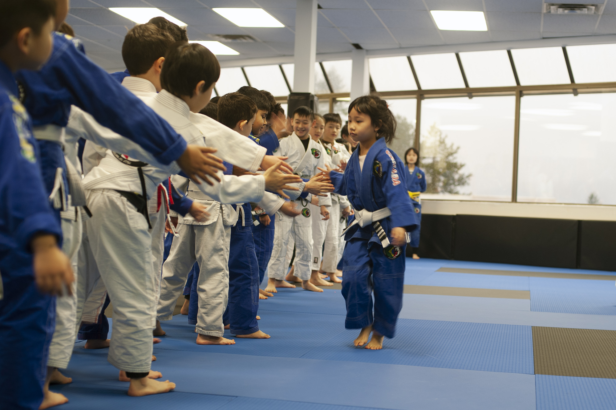 Tiny Grapplers BJJ program at GFTeam Canada in Burnaby