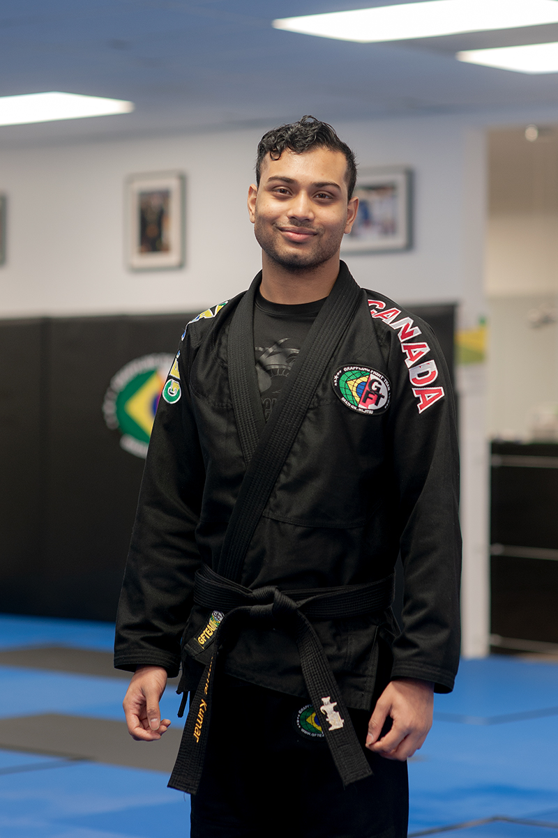 Coach Shayne Kumar of GFTeam Canada, Karate/Kickboxing Instructor