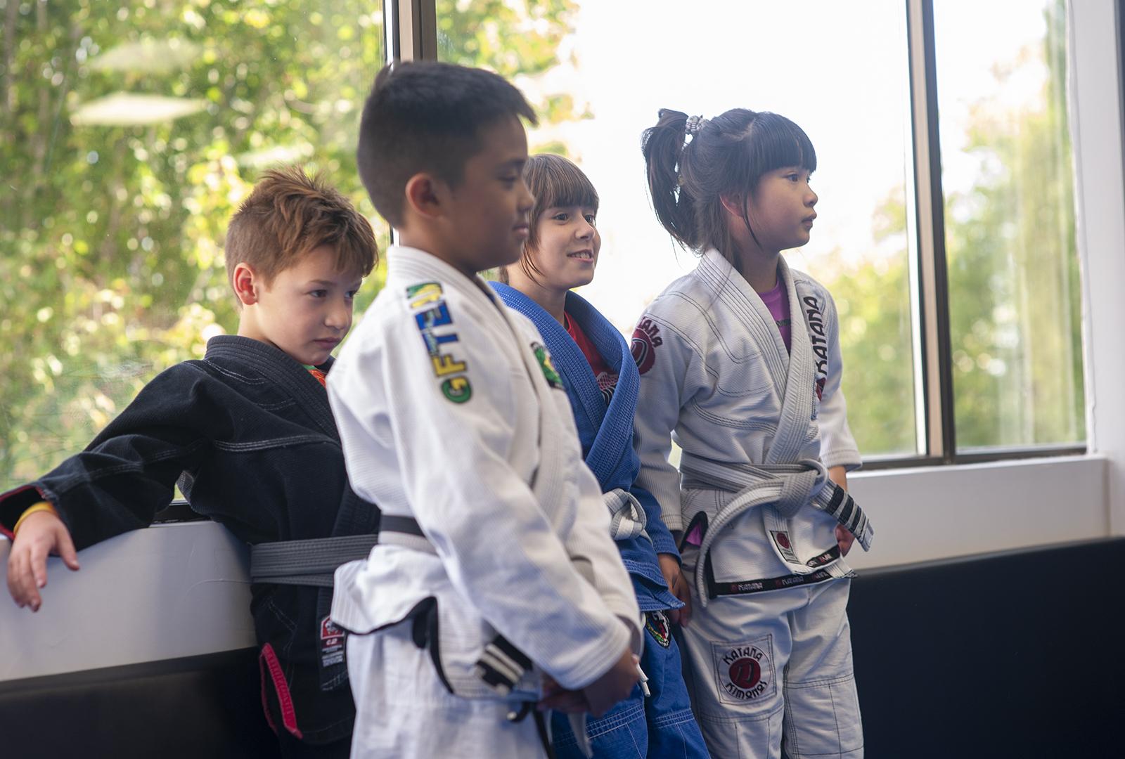 Junior Grapplers bjj kids program at GFTeam Canada in Burnaby