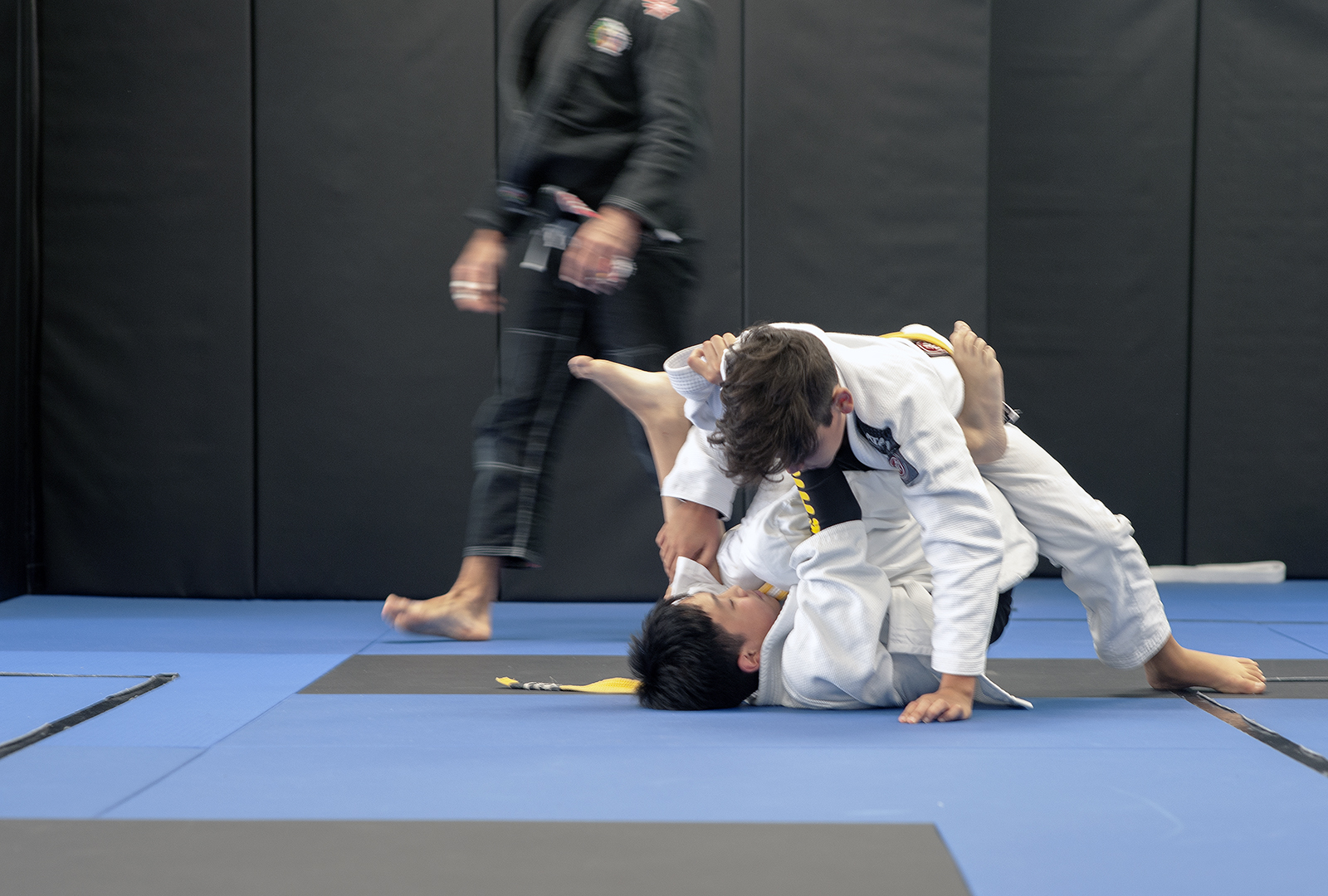 GFTeam Canada Kids Competition team grappling in Burnaby Invitation Only