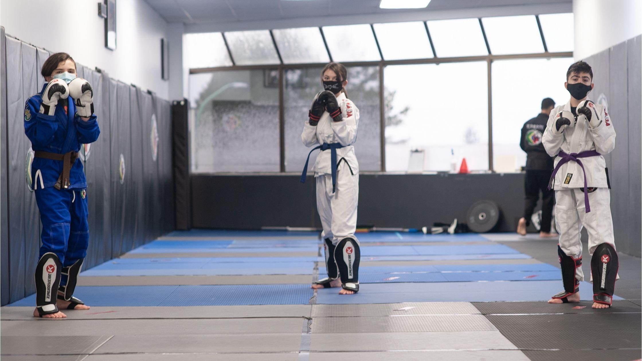 Junior Karate Striker program at GFTeam Canada