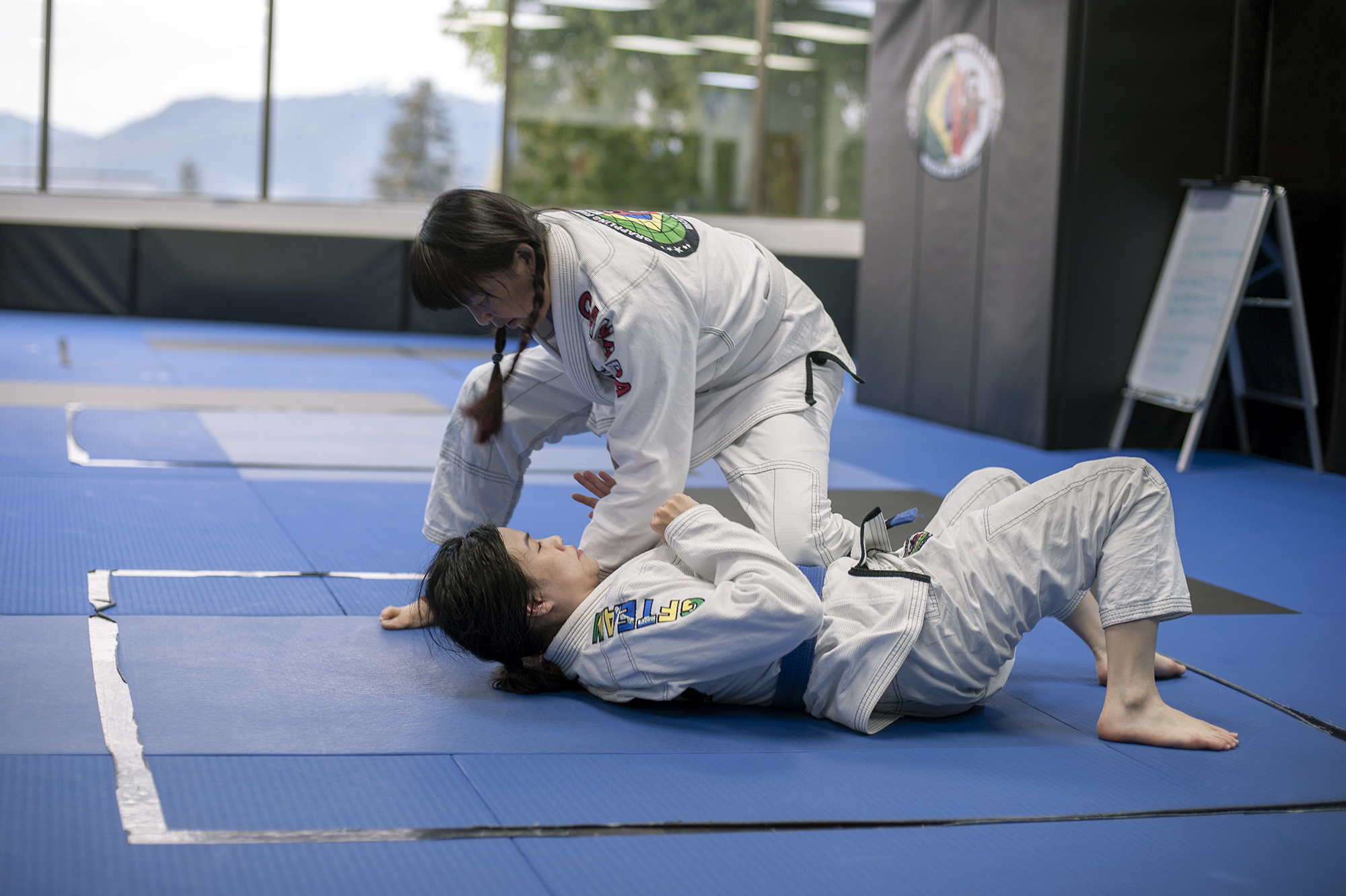 Women's Only BJJ at GFTeam Canada in Burnaby on Kingsway next to Fitness World